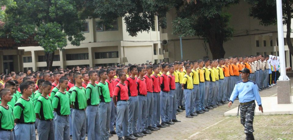 TOP! 700 Siswa Ikuti Pelatihan Pembinaan Mental Juang Bela Negara