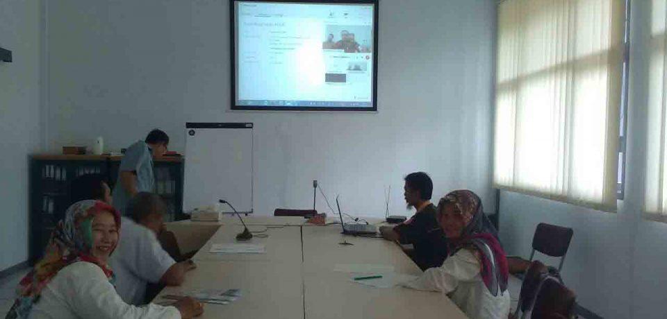 """Video Conference Bersama Dirjen PSMK Tentang """"Pemutakhiran Data Dapodik Direktorat Pembinaan SMK"""""""