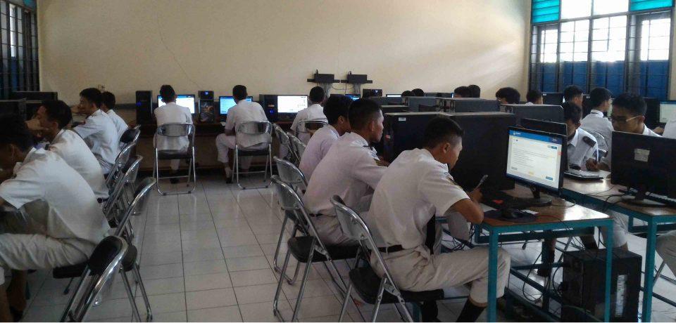 Pelaksaan Simulasi UNBK II Tahun 2017 SMK N 1 Cirebon Berjalan Dengan Baik