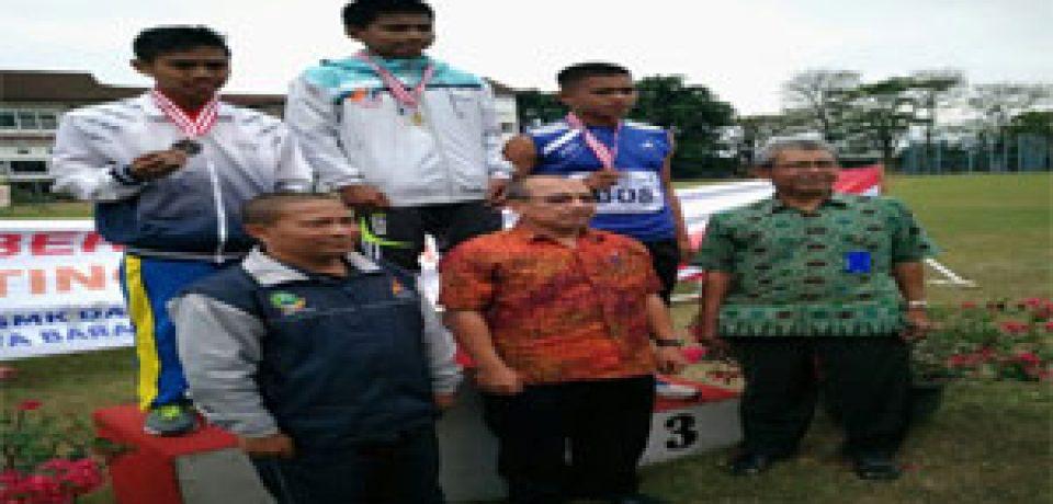 SMK N 1 CIREBON JUARA UMUM KE – 3 LOMBA O2SN SMK TINGKAT PROVINSI JAWA BARAT TAHUN 2017